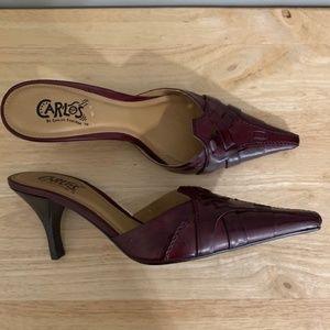Carlos By Carlos Santana Size 7 Pointed Heels